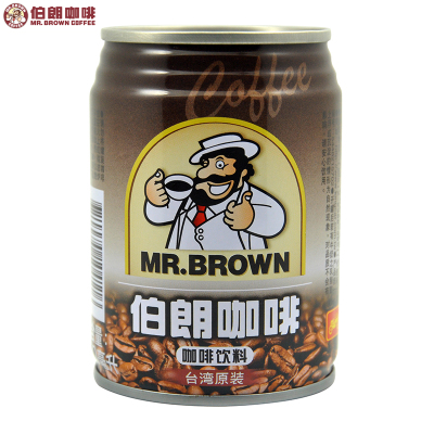 MR.BROWN伯朗咖啡饮料240ML/罐