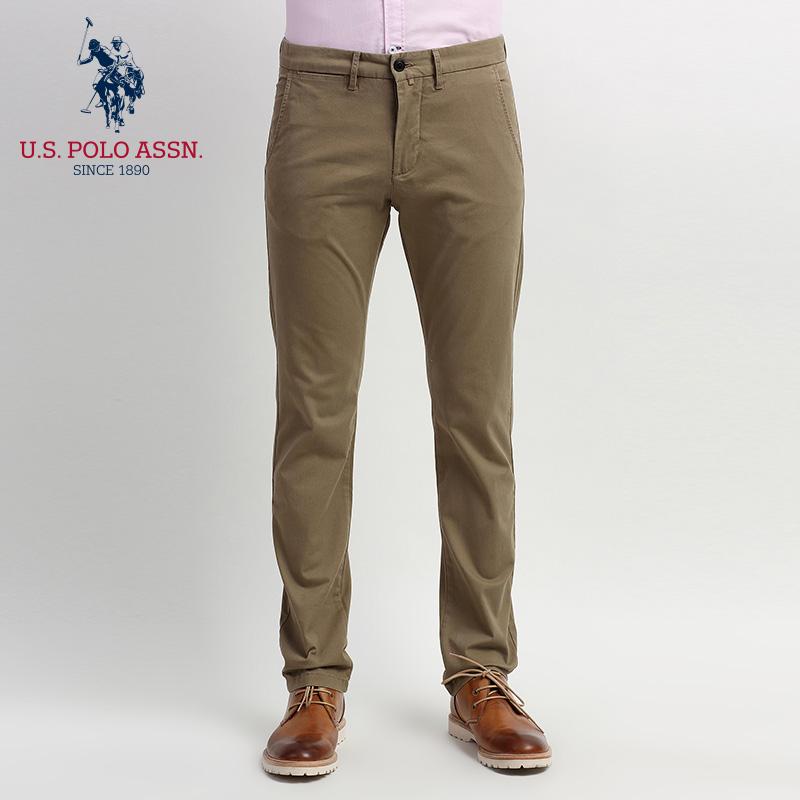 O ASSN.休闲裤男士夏季长裤子纯棉微弹力低腰纯色夏季款价格:$