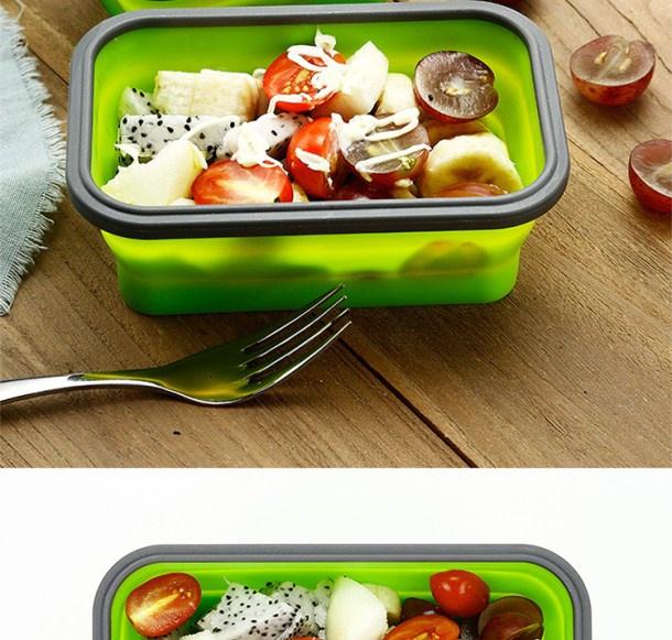 中國代購|中國批發-ibuy99|日本碗泡面伸缩用品用品碗硅胶碗餐餐具旅行红便携式网盒野餐折叠