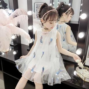 女童公主裙夏装儿童连衣裙洋气