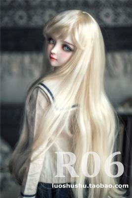 taobao agent 【Falling-R06】Three quarters and quarters giant baby 1/3, 1/4 BJD wig milk soft silk, imitation mohair