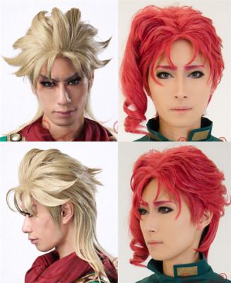taobao agent Jojo's Bizarre Adventure, Noriaki Hanakyoin, Dior Brando, the first jojo cos wig