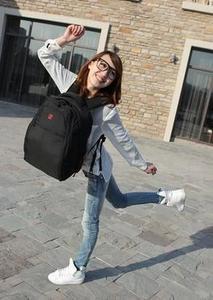 瑞士军刀双肩包 正品15寸电脑包 男女旅行包 休闲背包 书包SA9521