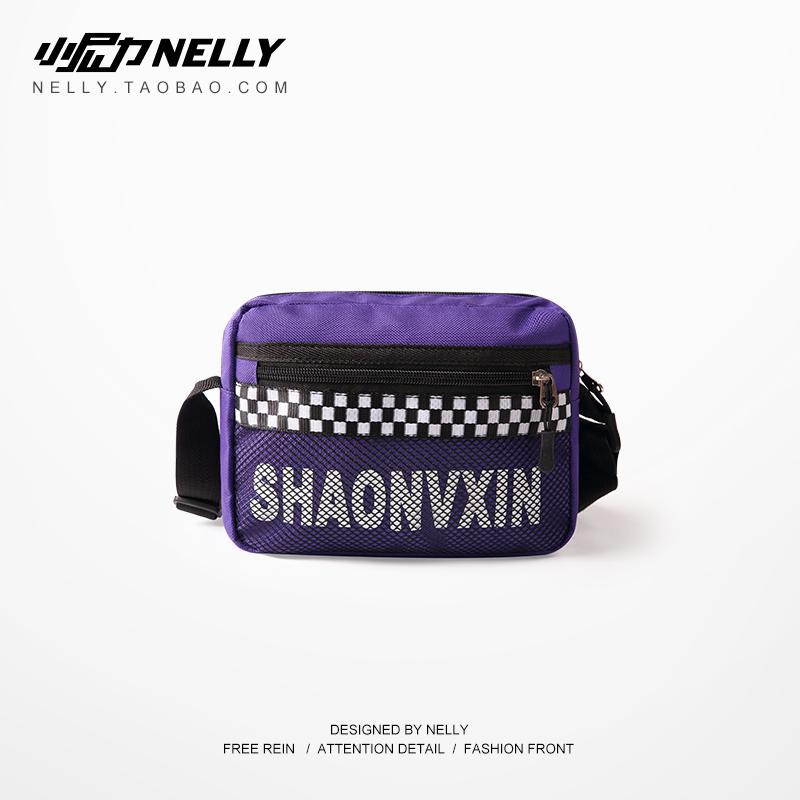 Triều thương hiệu Mỹ đường phố retro vai túi người đàn ông và phụ nữ ngực túi túi bánh bao túi sinh viên ba lô hip hop túi Messenger