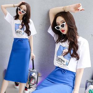 2018年夏季T恤时尚清新修身显瘦气质唯美潮流可爱YYJ1830P50