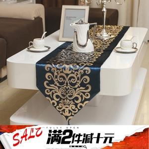 Phong cách châu âu đơn giản bronzing bàn hiện đại cờ bảng vải bàn cà phê tủ TV khăn trải bàn placemat vải giường cờ khăn giường