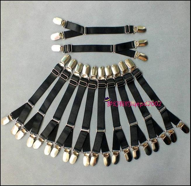 Hai chiều giống thú mỏ vịt khóa garter vớ kẹp DIY garter phù hợp với garter kim loại trang trí Hanfu ngực có sẵn