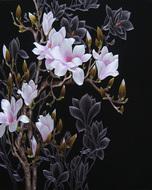 Nổi tiếng cổ thêu nghệ thuật thêu thêu diy kit người mới bắt đầu handmade sơn trang trí với mũi khâu magnolia 40 * 50 CM