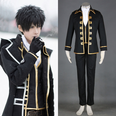 42agent Gintama cosplay costume really selected team uniforms earth fourteen Lang Chongtian total Wu uniforms full set - Taobao