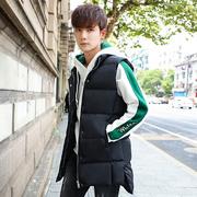 Của nam giới mùa xuân vest Slim Hàn Quốc phiên bản của xuống cotton xu hướng đẹp trai của nam giới áo khoác mùa đông ấm vest vest