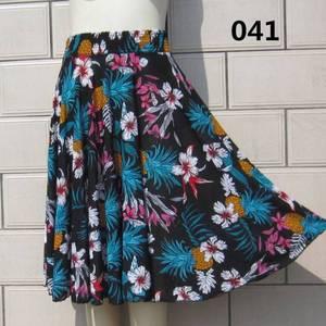 Ngày đặc biệt của phụ nữ trung niên mùa hè ăn mặc trên đầu gối cao eo nửa váy băng lụa thời trang mẹ váy nhảy vuông váy