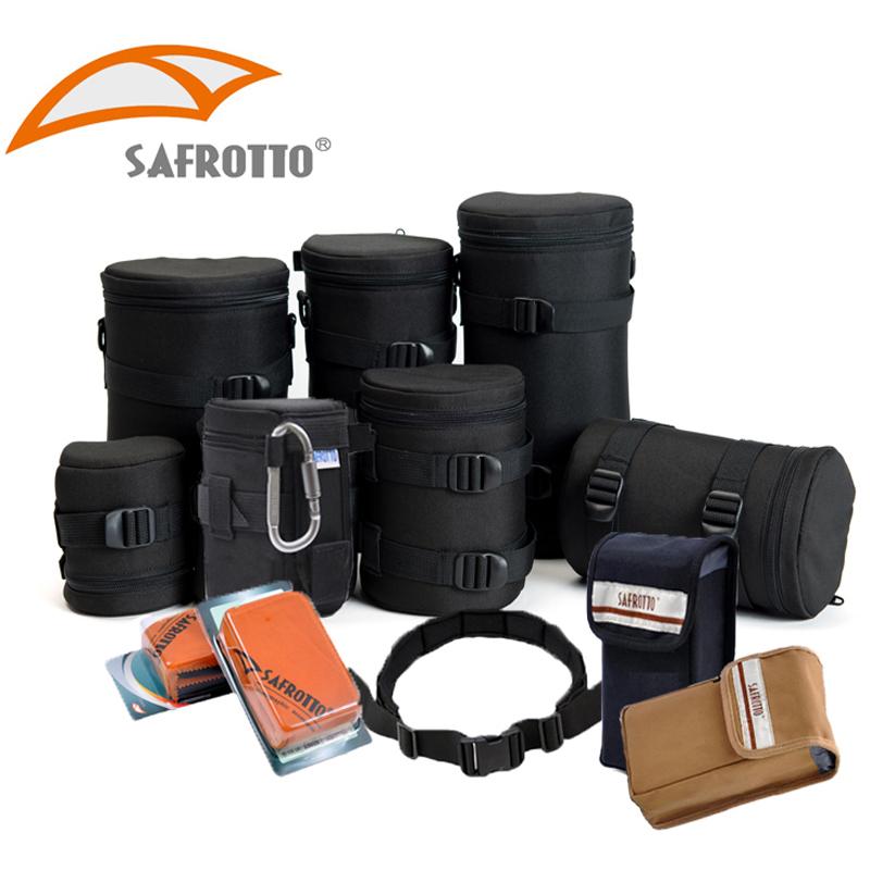 Safford SLR ống kính máy ảnh kỹ thuật số gói ống kính ống flash nhiếp ảnh túi vành đai vành đai phụ kiện máy gấp