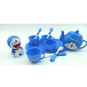 Đích thực Doraemon mô phỏng bộ trà trẻ em chơi nhà đồ chơi bộ trà 9.9