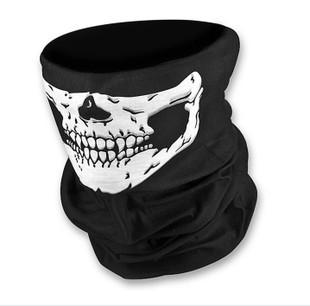 骷髅 CS ngoài trời tuyệt vời ma thuật khăn trùm đầu mũ CF nam giới và phụ nữ đường phố múa cưỡi bib mặt nạ mặt nạ