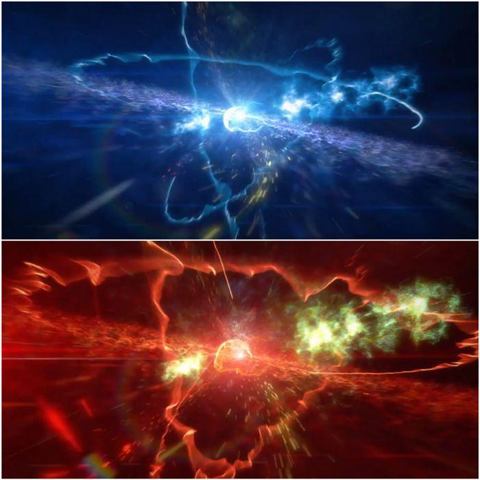 史诗空间粒子爆炸特效展示模板冲击波电影LOGO标志AE模板