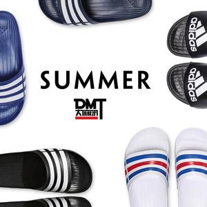DMT Adidas Adidas Dép Nam và nữ các cặp vợ chồng xu hướng thể thao dép đi trong nhà tắm G15890 U43664