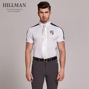 531 Hillman của Nam Giới Áo Cạnh Tranh Cưỡi Ngựa T-Shirt Cưỡi POLO Áo Cưỡi Ngựa Thể Thao Hàng Đầu Ngắn Tay Áo