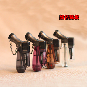 Nanjia Jingshe khói cung cấp cho lửa ứng dụng đặc biệt nhẹ hơn windproof nhẹ hơn súng phun inflatable nhẹ hơn