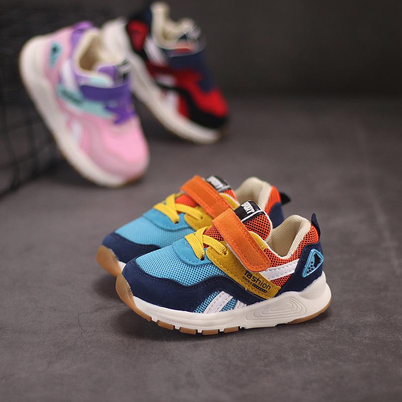 春季宝宝机能鞋1-3岁2儿童运动鞋0-12个月男童幼儿学步鞋女童鞋子