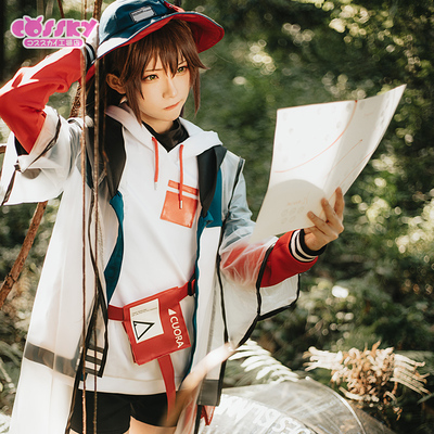 taobao agent Spot cossky tomorrow's ark cos snake carton cos quadrilateral cospaly clothing female skin wig