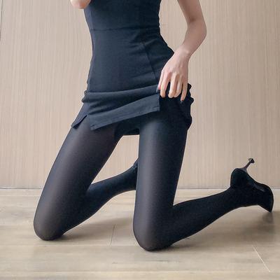 taobao agent Japanese beautiful legs black stockings female spring and autumn flesh-colored stockings female anti-hook silk bottoming socks black medium-thick pantyhose