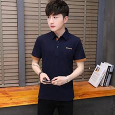 2019夏季爆款跑量休闲纯棉短袖polo衫男时尚潮流翻领T恤PL825