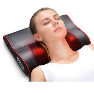 全身电动按摩枕头肩颈靠垫车载家用按摩器