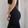 Женские джинсы скинни с завышенной талией