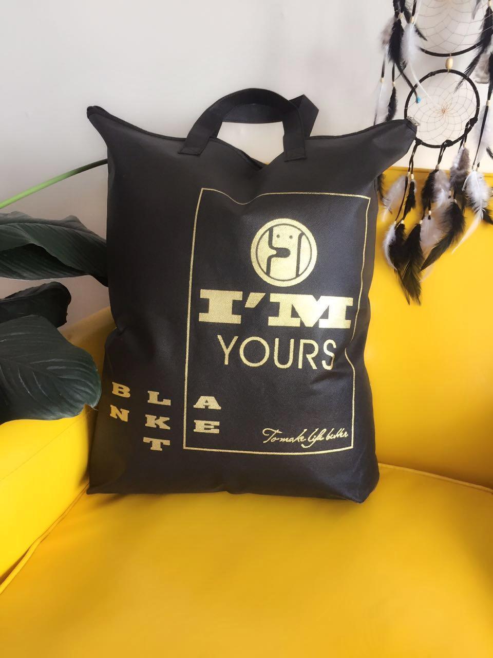 Cổ điển cho thêm túi tote ánh sáng khăn tay màu đen khác túi chăn màu đen mặt màu nhìn phổ biến màu