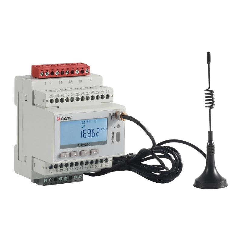 安科瑞ADW200-D10-4S导轨式多回路电力仪表 带显示4路多功能电表