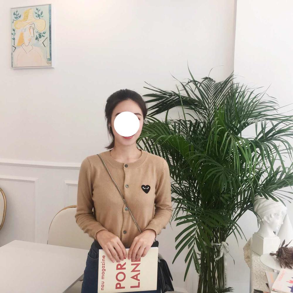 MAO tự chế đầu mùa thu ngày với cùng một tình yêu len áo len áo len áo len ngắn nữ (tại chỗ)