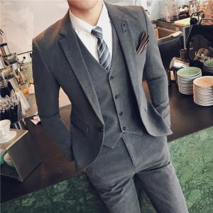 Mới phù hợp với nam phong cách Người Anh Hàn Quốc phiên bản của tự trồng phù hợp với kinh doanh bình thường phù hợp với đám cưới ăn mặc kích thước nhỏ của nam giới thủy triều