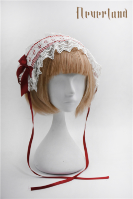taobao agent Soufflesong exclusive design【Not stripes】OP dress accessories plaid hairband water soluble type B