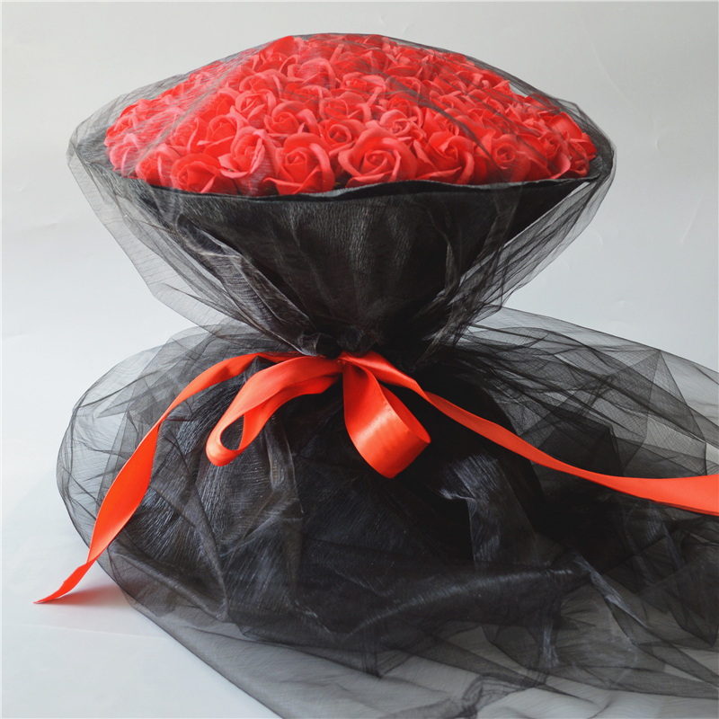 99 Rose Bouquet Birthday Gift Girl Mothers Day To Send Friends Mother Girlfriend Wife Creative Practical Gifts