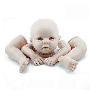 22 inch DK-10 tái sinh bé phổ biến khuôn búp bê silicone phụ kiện KRISTA RebornBabyDoll