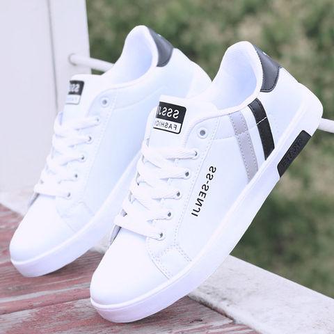 男鞋春季2020新款小白鞋男夏季男士运动休闲鞋时尚潮流板鞋男