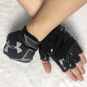 THEO D ARMI ARMOR An Dema của nam giới tập thể dục đào tạo thể thao nửa ngón tay găng tay không trượt chịu mài mòn thoáng khí