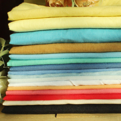 taobao agent 16-color doll cloth for baby clothes, pure cotton polyester cotton solid color fabric, shirt 1/4 meter DIY handmade BJD soldier