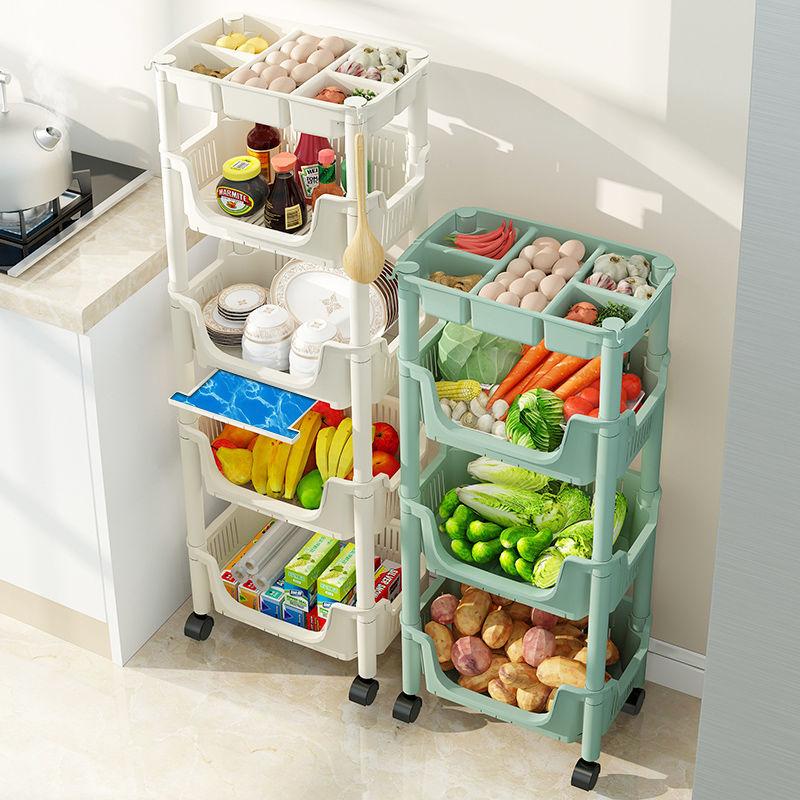 厨房置物架落地多层果蔬菜架子用品置物架