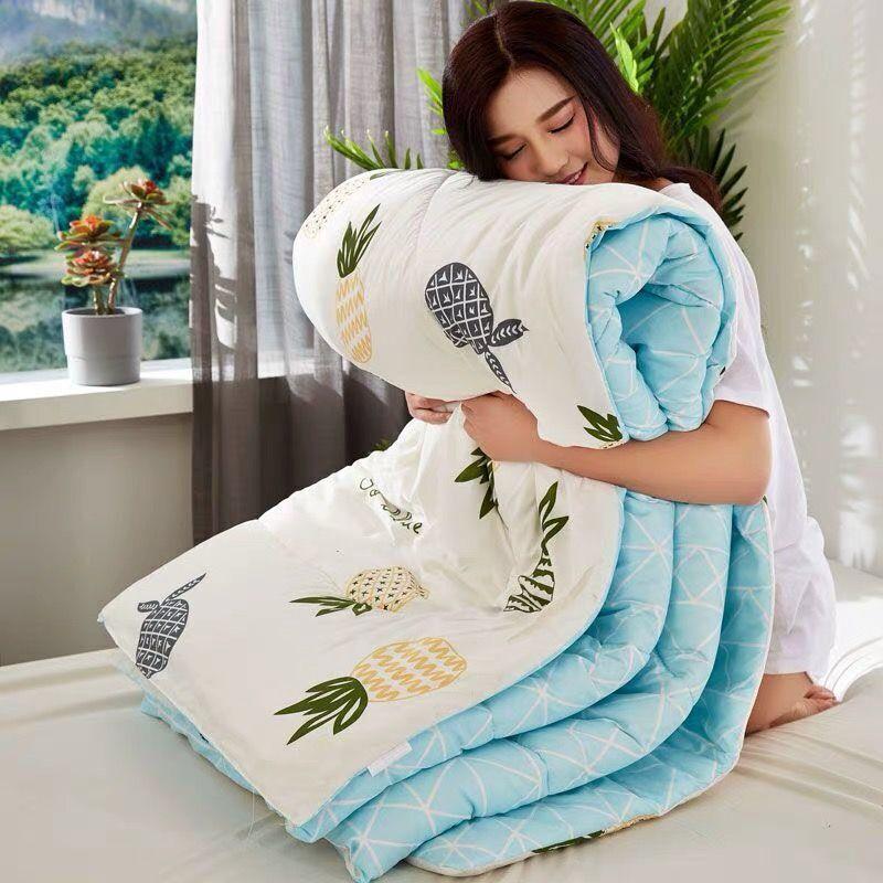 百惠水洗棉被子冬被加厚保暖被芯空调被单人学生宿舍夏双人太空被