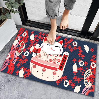 卫生间吸水地垫厨房脚垫卫浴室防滑垫子家用门口进门门垫卧室地毯