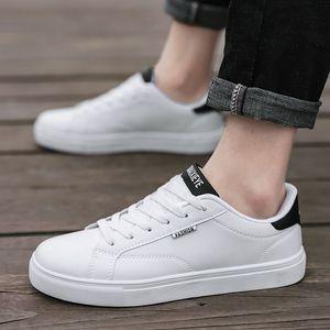 时尚小白鞋子男士低帮板鞋运动男鞋