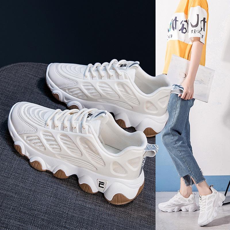 女秋季新款小白运动鞋女学生跑步鞋