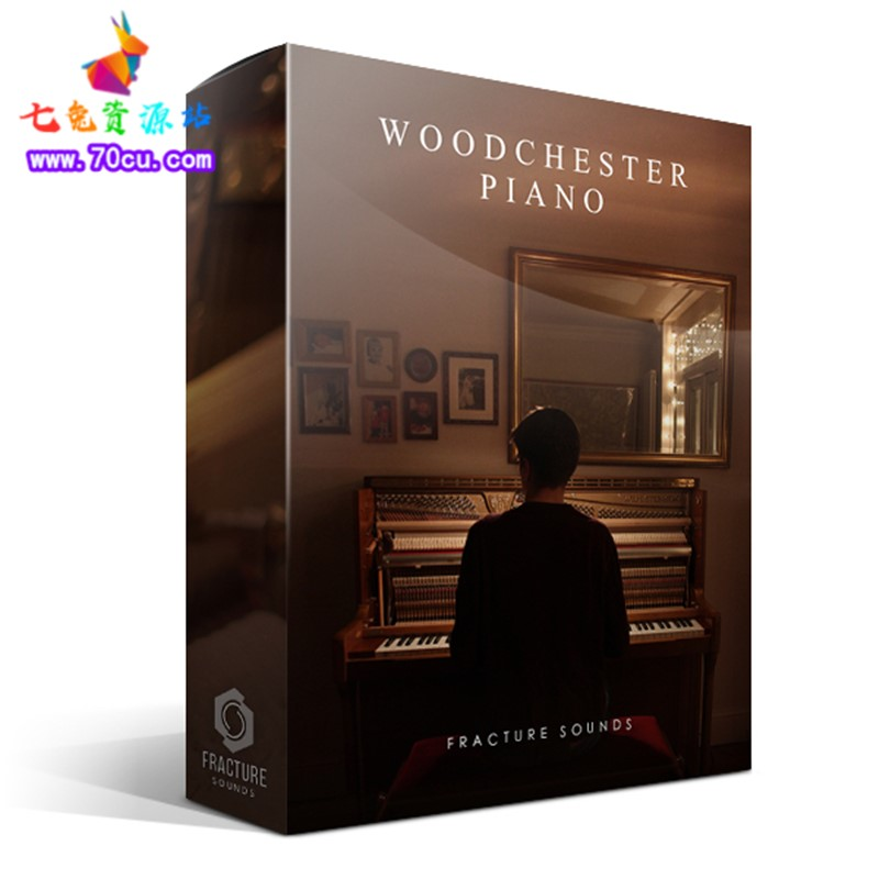 伍德切斯特立式钢琴 虚拟乐器 Woodchester Piano kontakt音色库