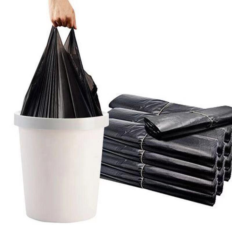 400只黑色垃圾袋家用加大加厚一次性物业