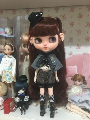 taobao agent blythe small doll clothes suit men's girl 1/6 points bjd clothes holala clothes