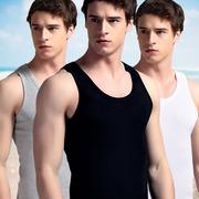 Của nam giới vest cotton mỏng thể thao rào cản thoáng khí đáy áo mùa hè chặt chẽ sling thanh niên Hàn Quốc phiên bản của thủy triều