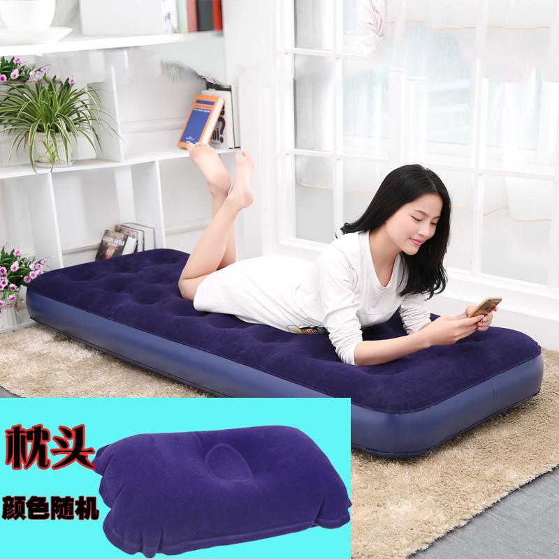 Cung cấp công cụ cài đặt đơn giản PVC tay máy bơm không khí 1 lớp bên ngoài máy bơm không khí giường inflatable loại nội thất dân cư lỗi
