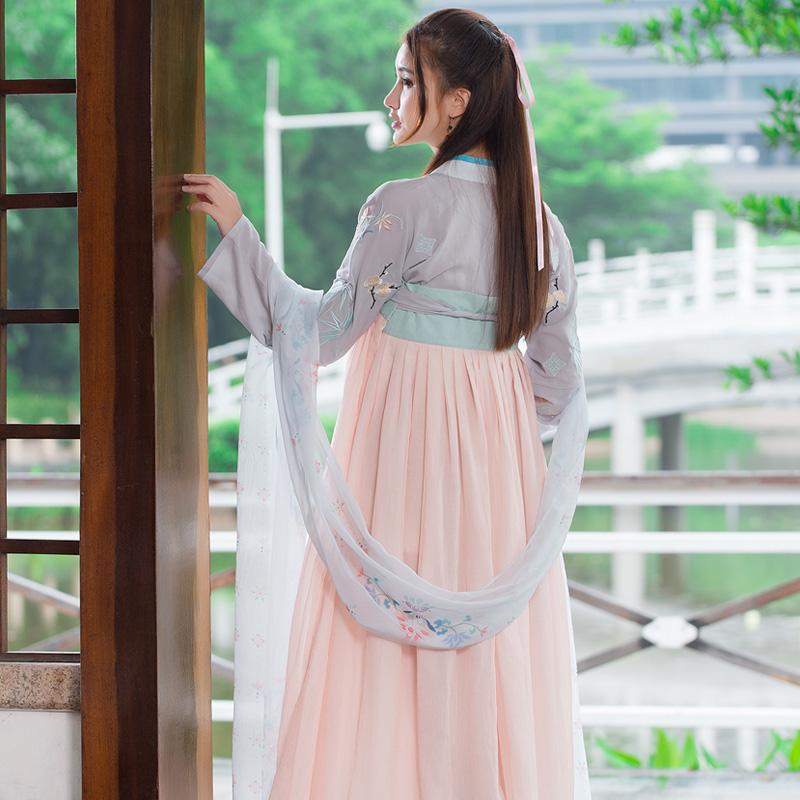 X047 古装汉服表演服饰 配饰 围巾 披肩  披帛
