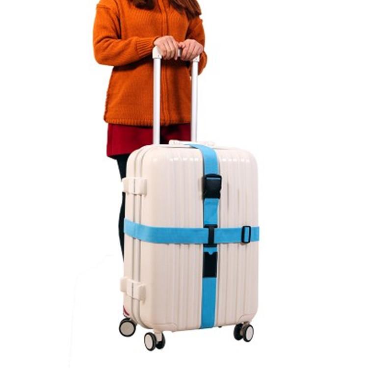Dây đai hành lý chéo dây đeo gắn với trường hợp xe đẩy hộp du lịch kiểm tra gia cố vành đai thiết bị cầm tay